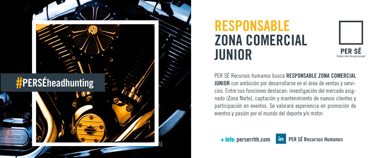 Responsable Zona Comercial Junior