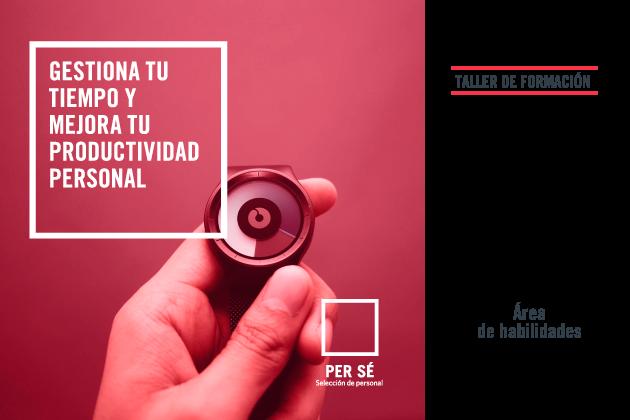 Taller de formación de gestión del tiempo y productividad personal en Asturias